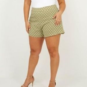 NEW OLD NAVY cotton summer shorts plus size 16